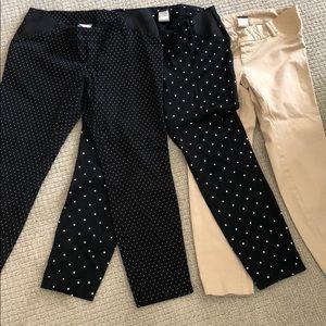 Pants - Old navy maternity pant bundle